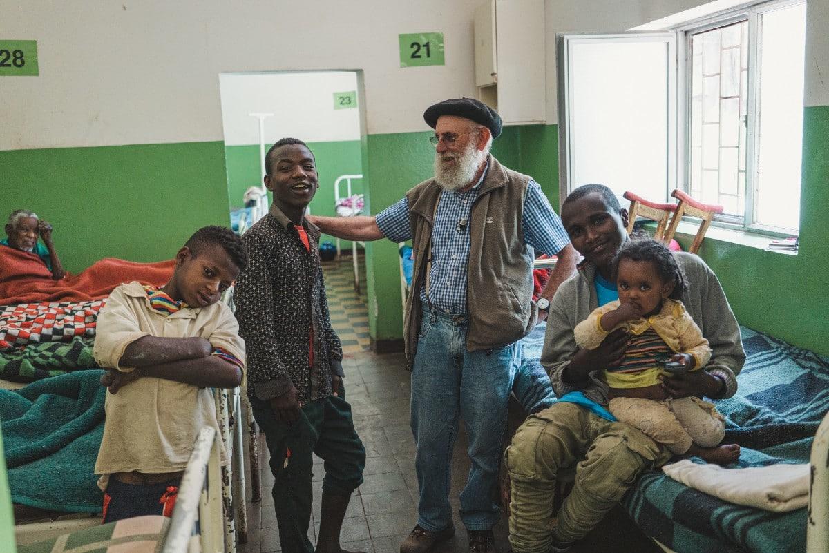 El misionero español Álvaro Palacios en Etiopía. Foto: OMP España.