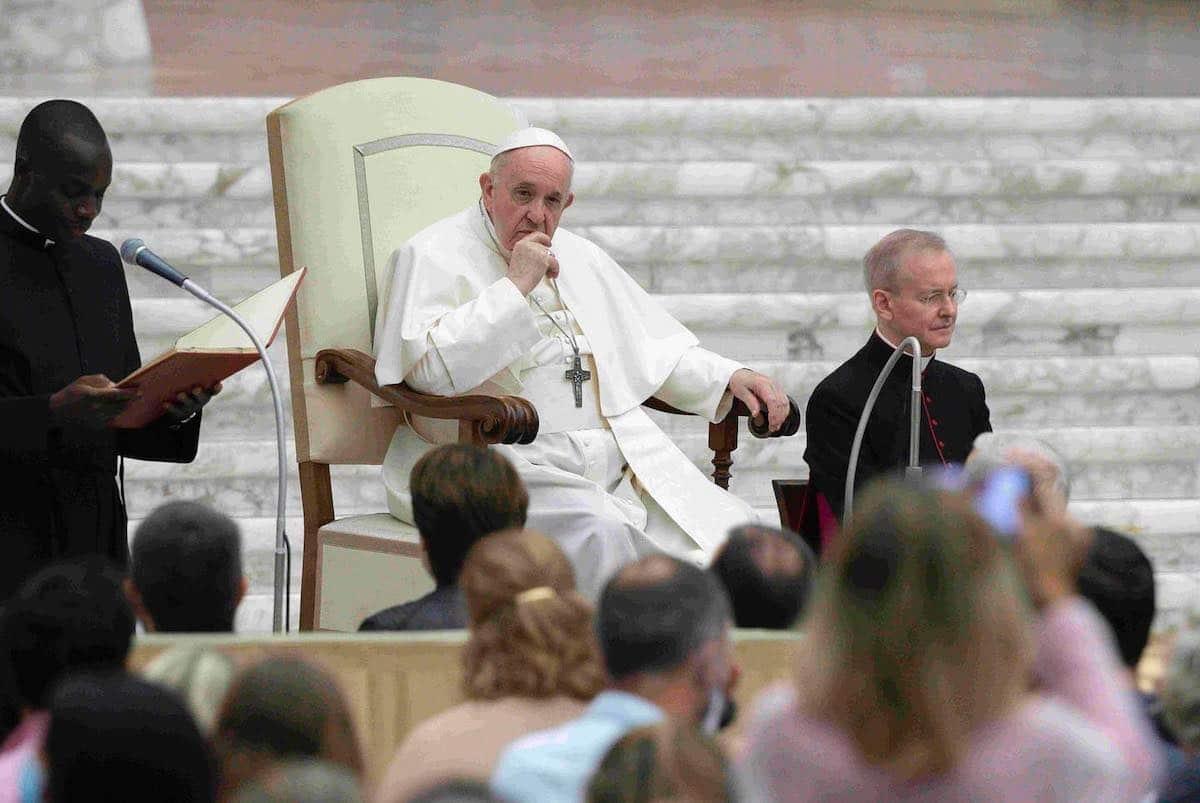 El Papa Francisco en Audiencia General. Foto: Vatican Media