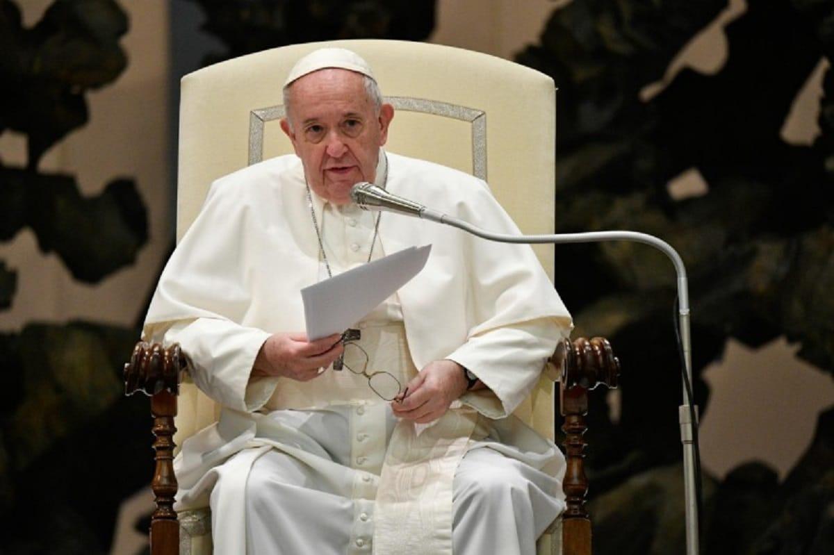El Papa Francisco en la Audiencia General del 21 de octubre. Foto: Vatican Media.