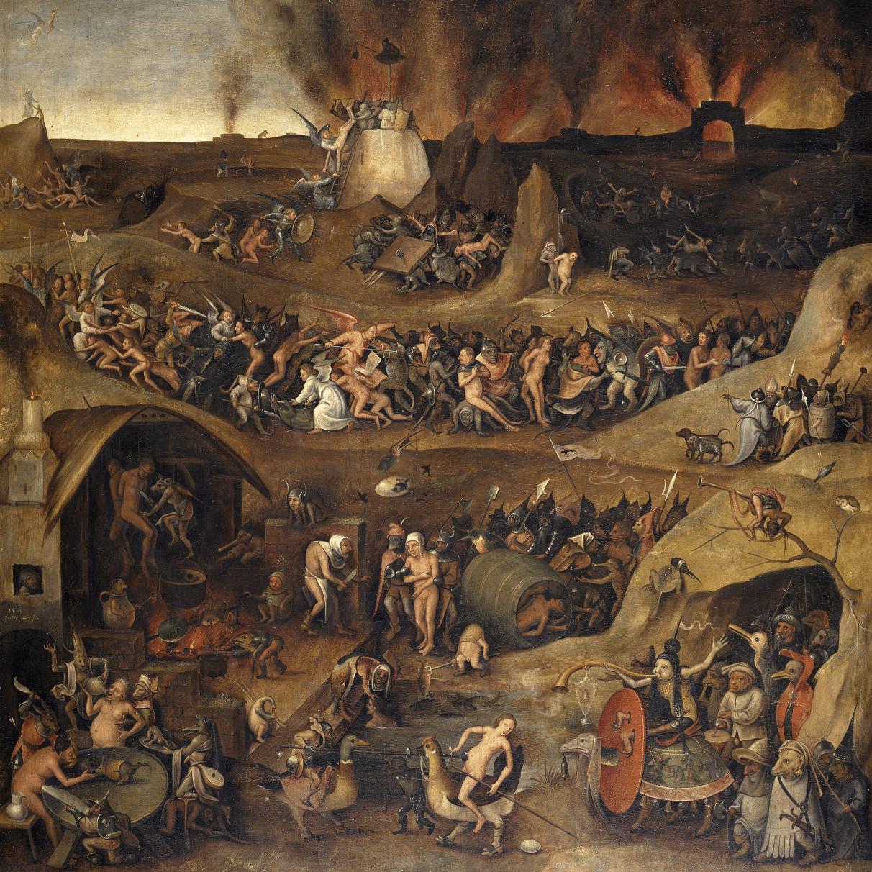 El Infierno, de Pieter Huys.
