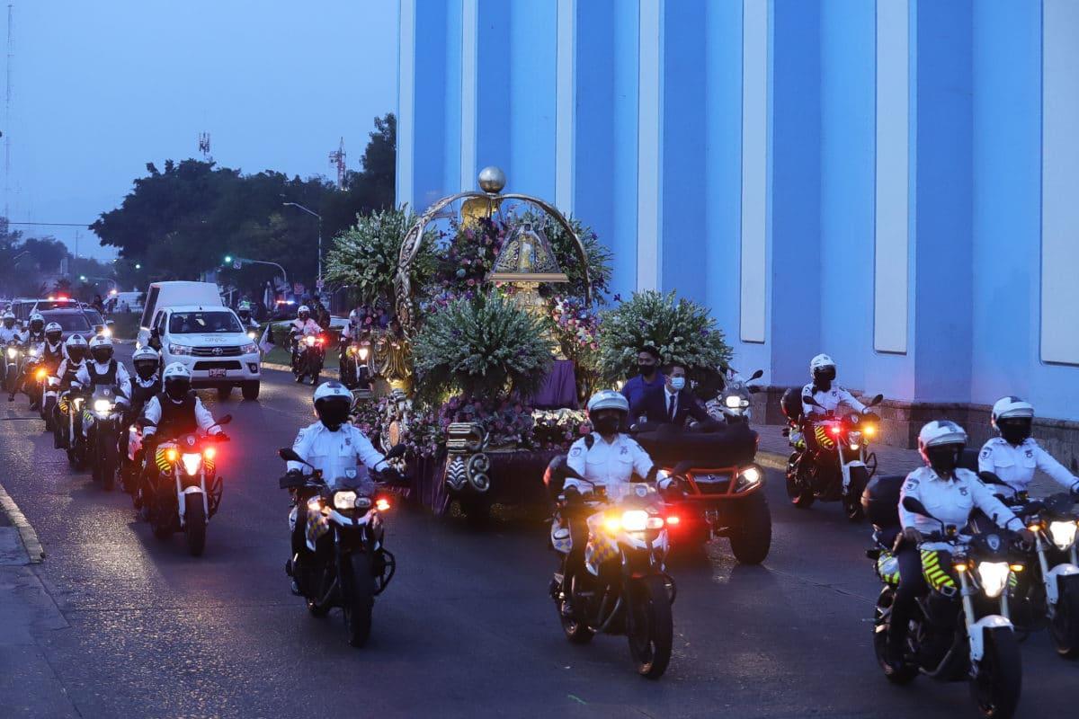 La Romería de la Virgen de Zapopan se llevó a cabo sin fieles