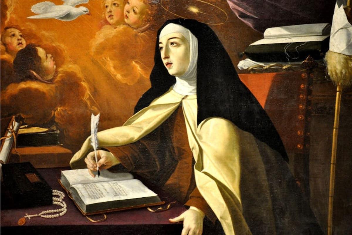 Santa Teresa de Ávila, sus escritos le valieron el título de doctora de la Iglesia. Foto: Portal Carmelitano