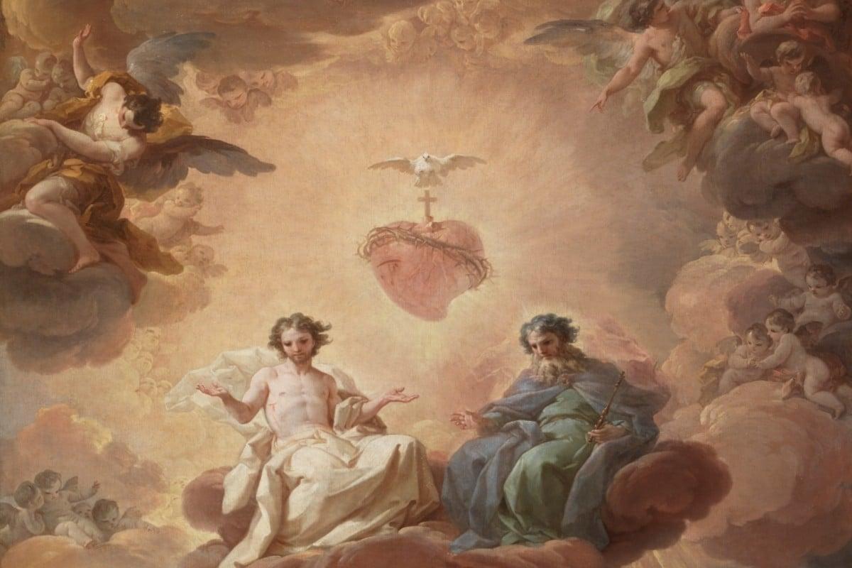 La Santísima Trinidad, de Corrado Giaquinto.