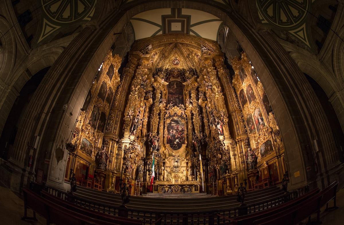El Altar de los Reyes de la Catedral Metropolitana de México. Foto: María Langarica