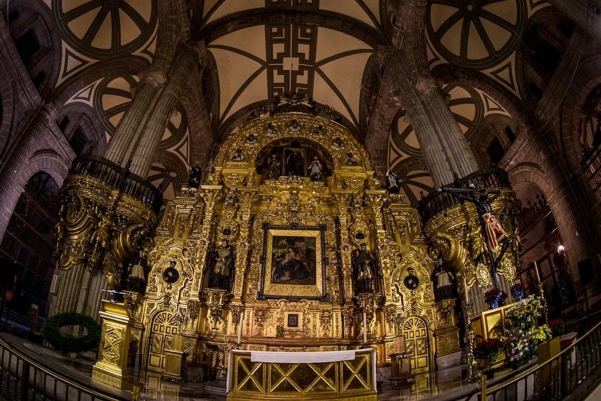 El Altar del Perdón de la Catedral Metropolitana de México. Foto: María Langarica