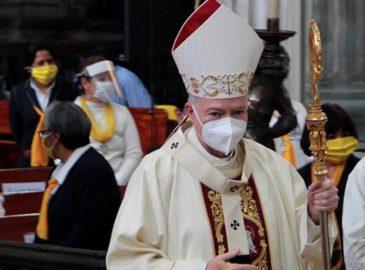 Cardenal Aguiar pide a sacerdotes redoblar esfuerzos ante COVID-19
