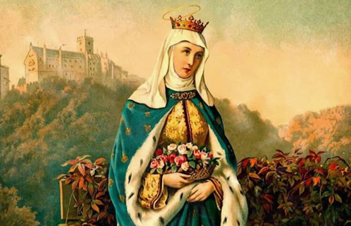 Santa Isabel de Hungría.