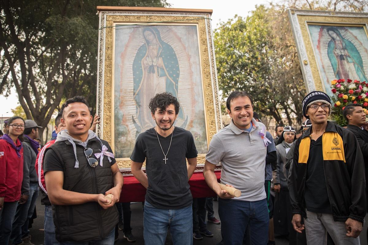 Los jóvenes son el ahora de la Iglesia. Foto: María Langarica