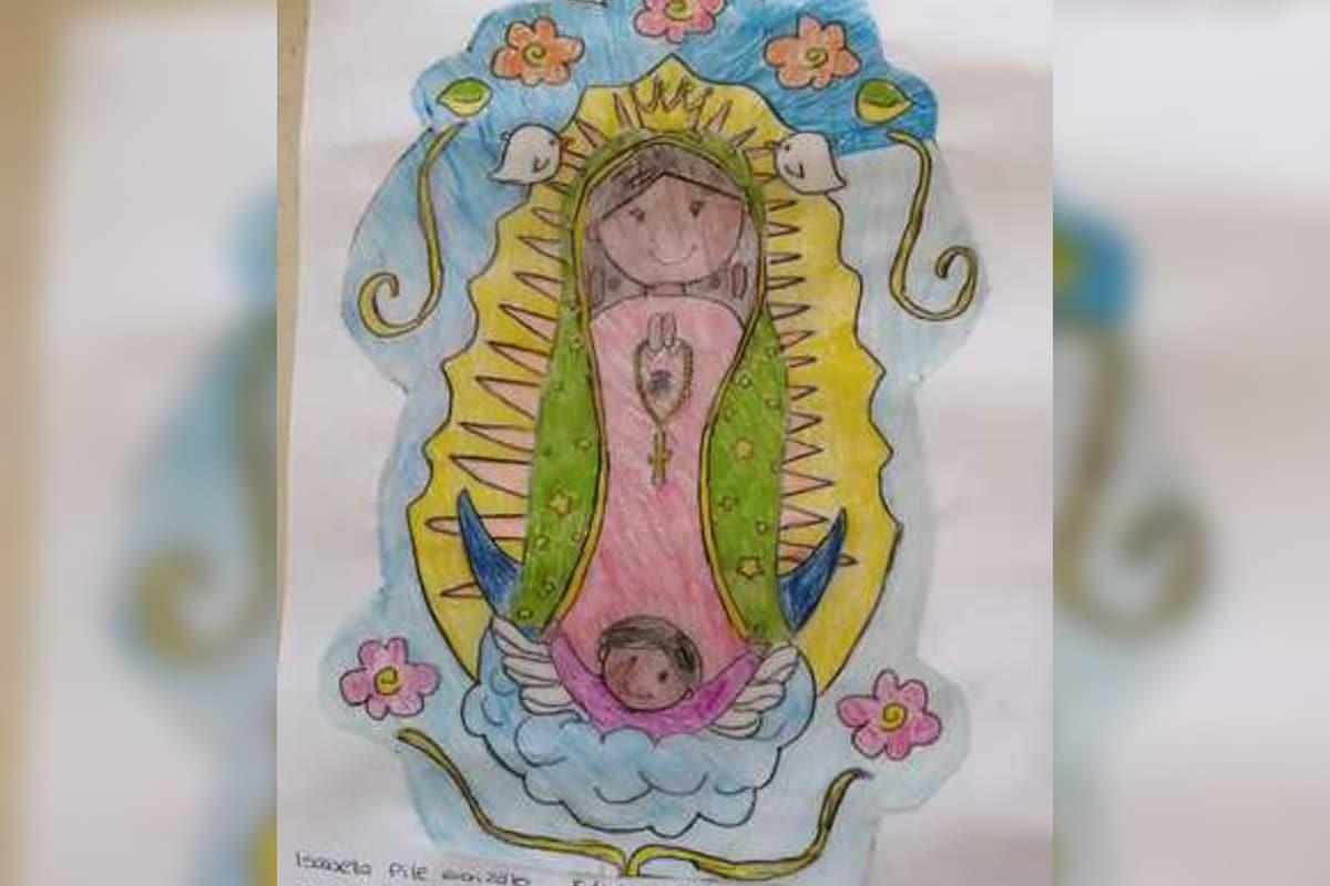 ¡Regálale un dibujo a la Virgen de Guadalupe!