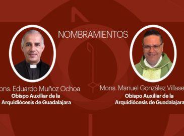 La Arquidiócesis de Guadalajara tiene dos nuevos obispos auxiliares