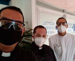 Sacerdotes COVID salen contagiados, se recuperan y vuelven a la carga