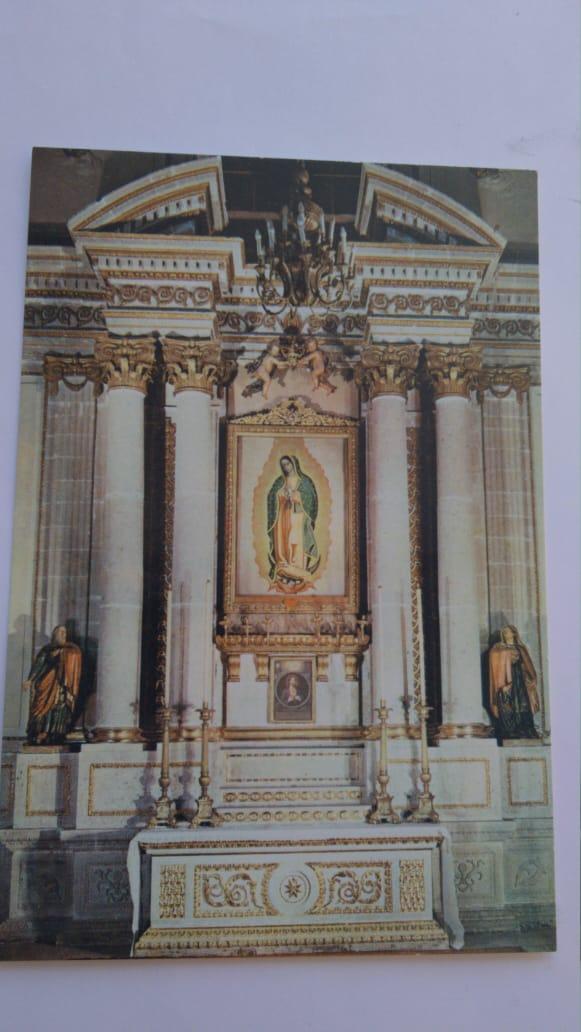 Retablo de la Capilla de Nuestra Señora de Guadalupe en la Catedral de México