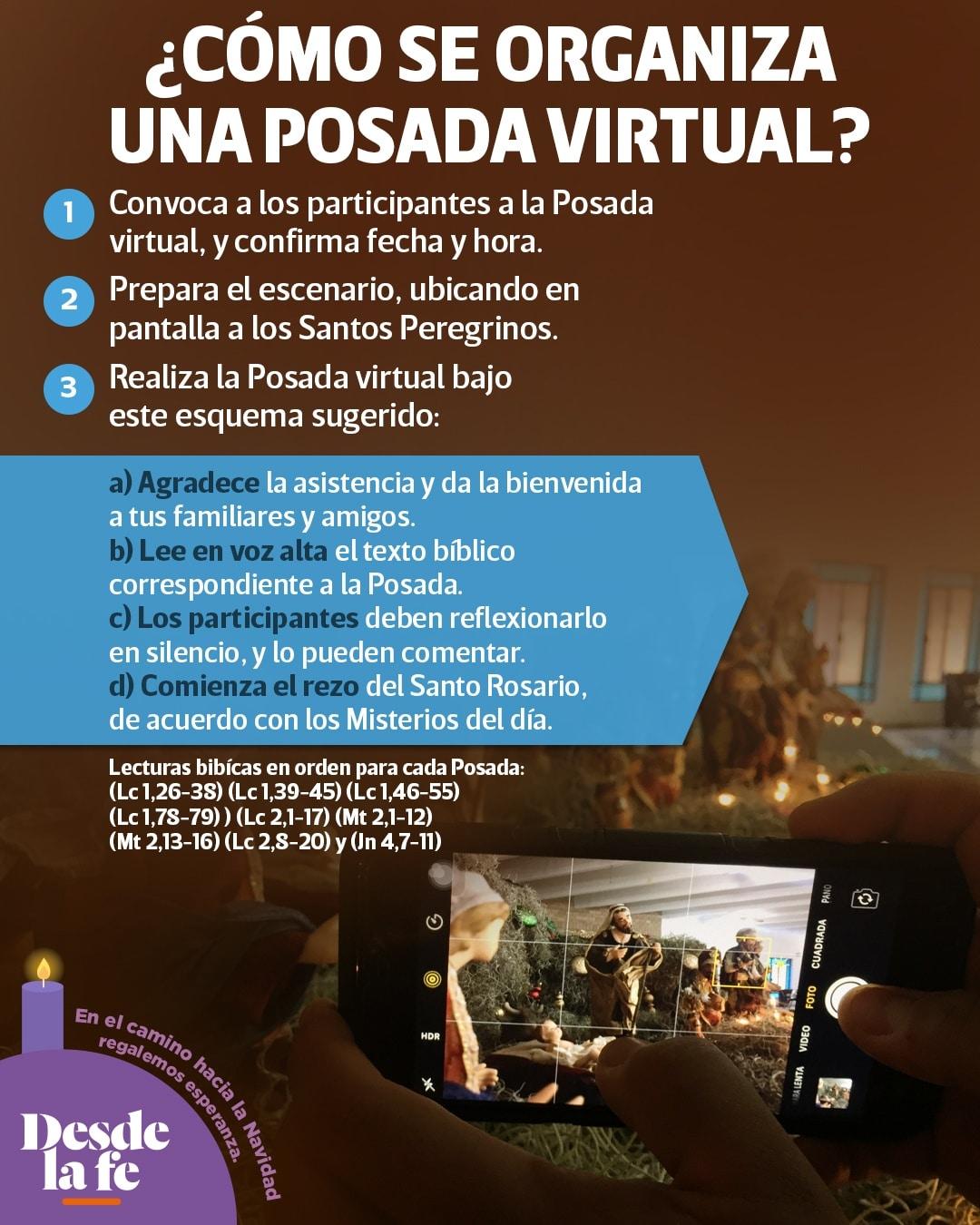 ¿Cómo hacer una posada virtual para celebrar la Navidad 2020 en pandemia?