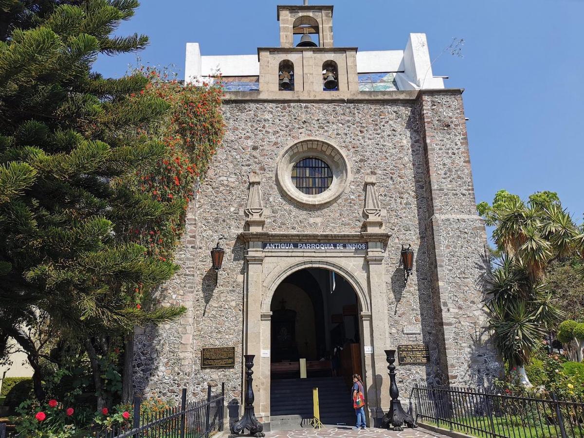 Exterior de la Antigua Parroquia de Indios.