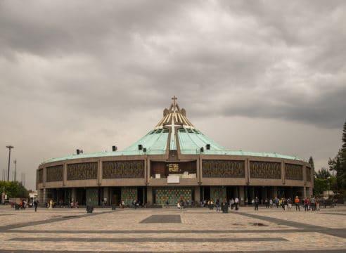 A partir de hoy y hasta el lunes, la Basílica de Guadalupe está cerrada