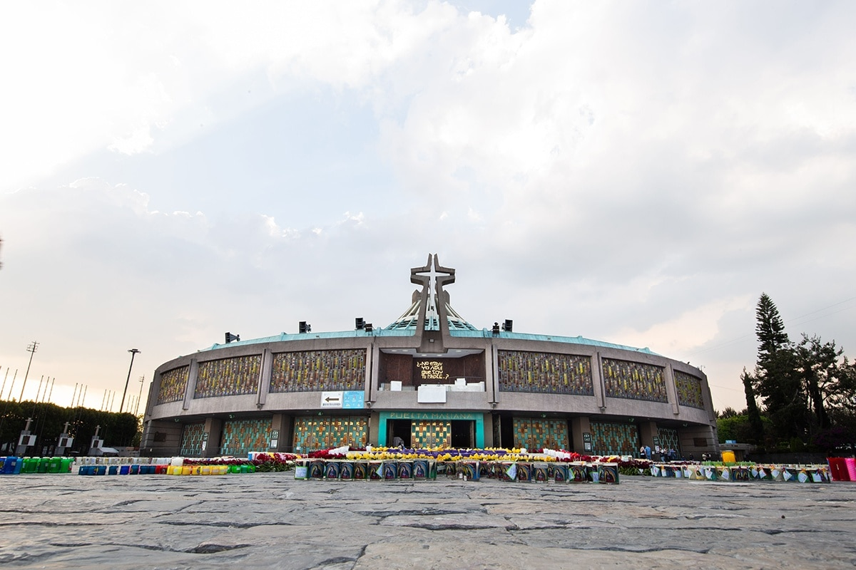 La Basílica de Guadalupe el 11 de diciembre de 2020.