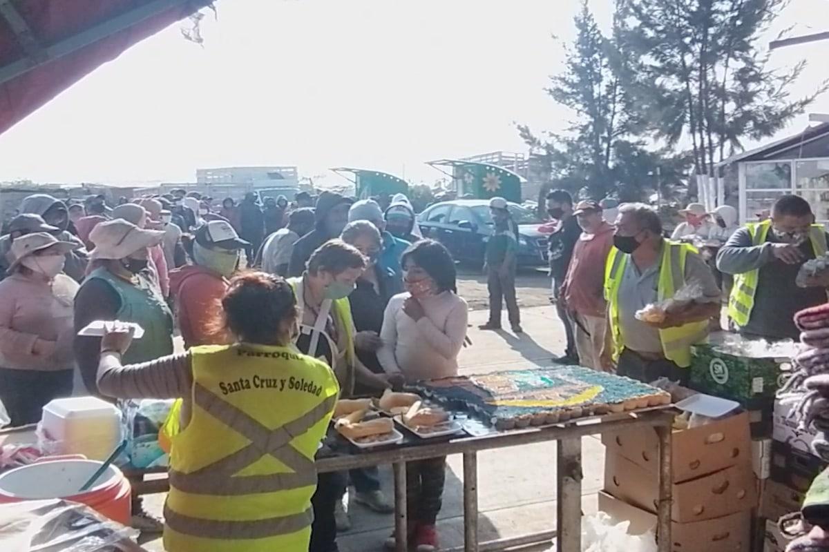 El comedor, ubicado en el Bordo de Xochiaca, es el décimo que el padre Benito Torres y su equipo abren. Foto: Cortesía P. Benito Torres.