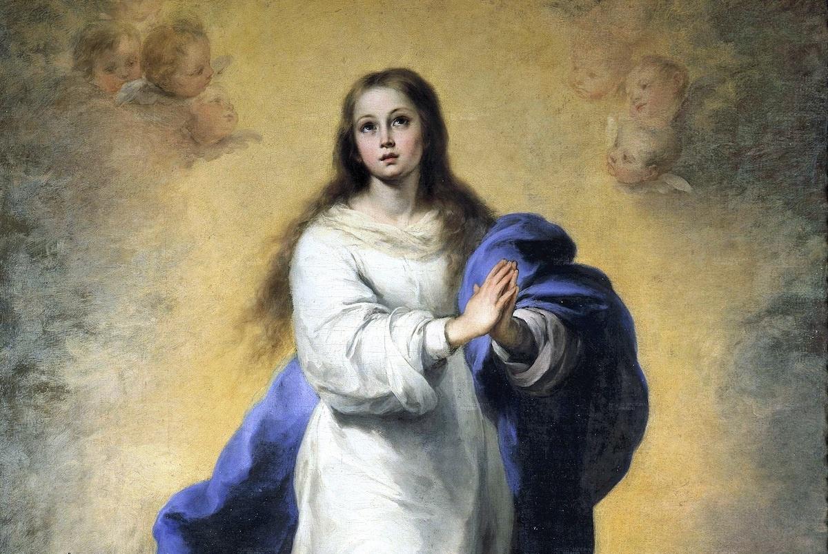La Inmaculada del Escorial, de Bartolomé Esteban Murillo.