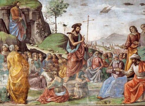 ¿Cuál es el ejemplo de humildad que nos da Juan el Bautista?