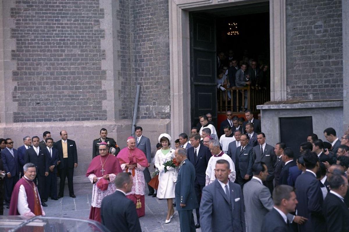 Los Kennedy también eran devotos católicos. Foto: jfklibrary.org