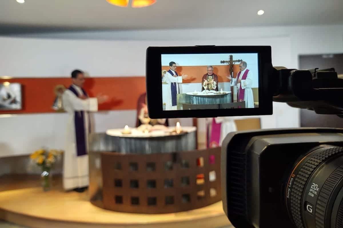 Misa de los obispos auxiliares de la Arquidiócesis de México.