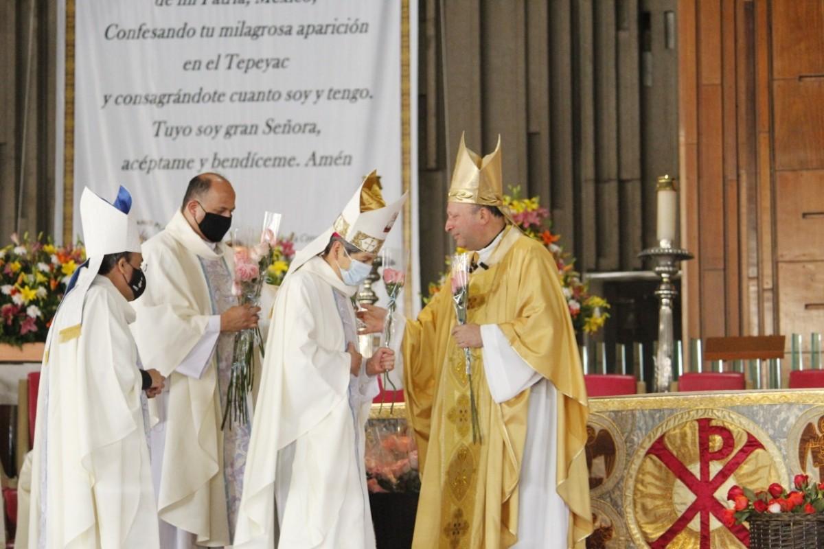 Misa de las Rosas del 12 de diciembre de 2020. Foto: Basílica de Guadalupe.