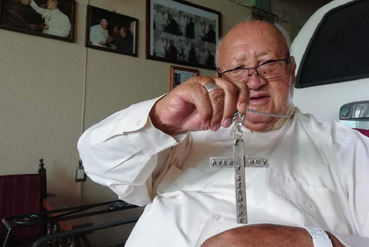 Monseñor Florencio Olvera. Foto: Noticias de Querétaro.