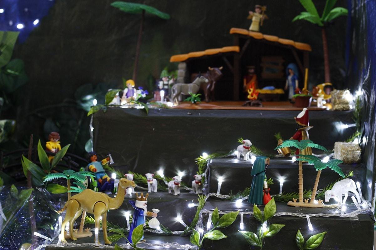 Los Reyes Magos visitan al Foto: Filiberto Monter Santiago.