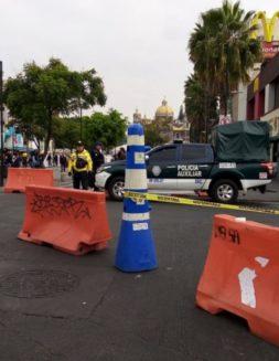 Este es el cierre de calles alrededor de la Basílica de Guadalupe