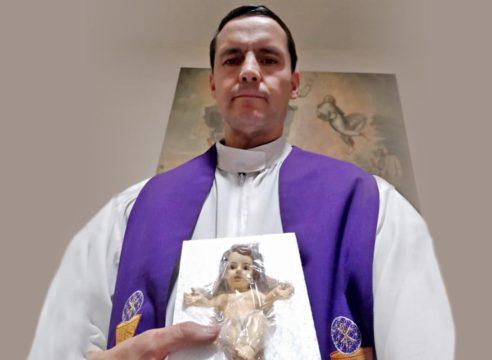 Los sacerdotes COVID llevarán al Niño Dios a los hospitales de la CDMX