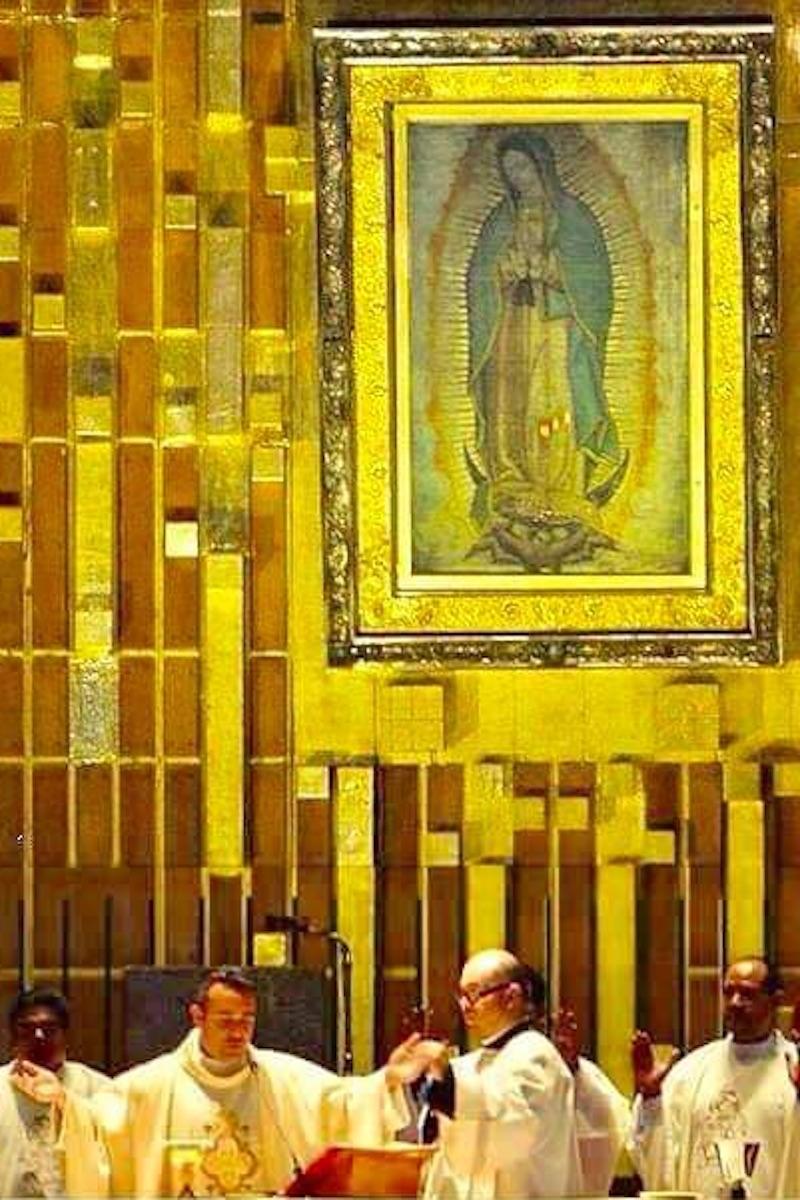 """La Virgen de Guadalupe es el amor de su vida, considera el padre """"Memo"""". Foto: Cortesía P. Guillermo Mendoza"""