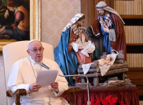 3 reflexiones del Papa Francisco para vivir la mejor Navidad