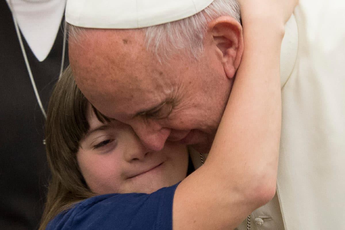 El Papa Francisco en Audiencia con el Congreso de Personas con discapacidad. Foto: L'Osservatore Romano