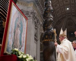 El Papa Francisco se encomendará a la Virgen de Guadalupe ante COVID