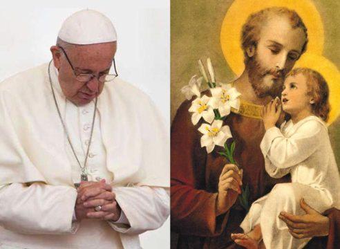 Esta es la oración a San José que el Papa Francisco reza todos los días