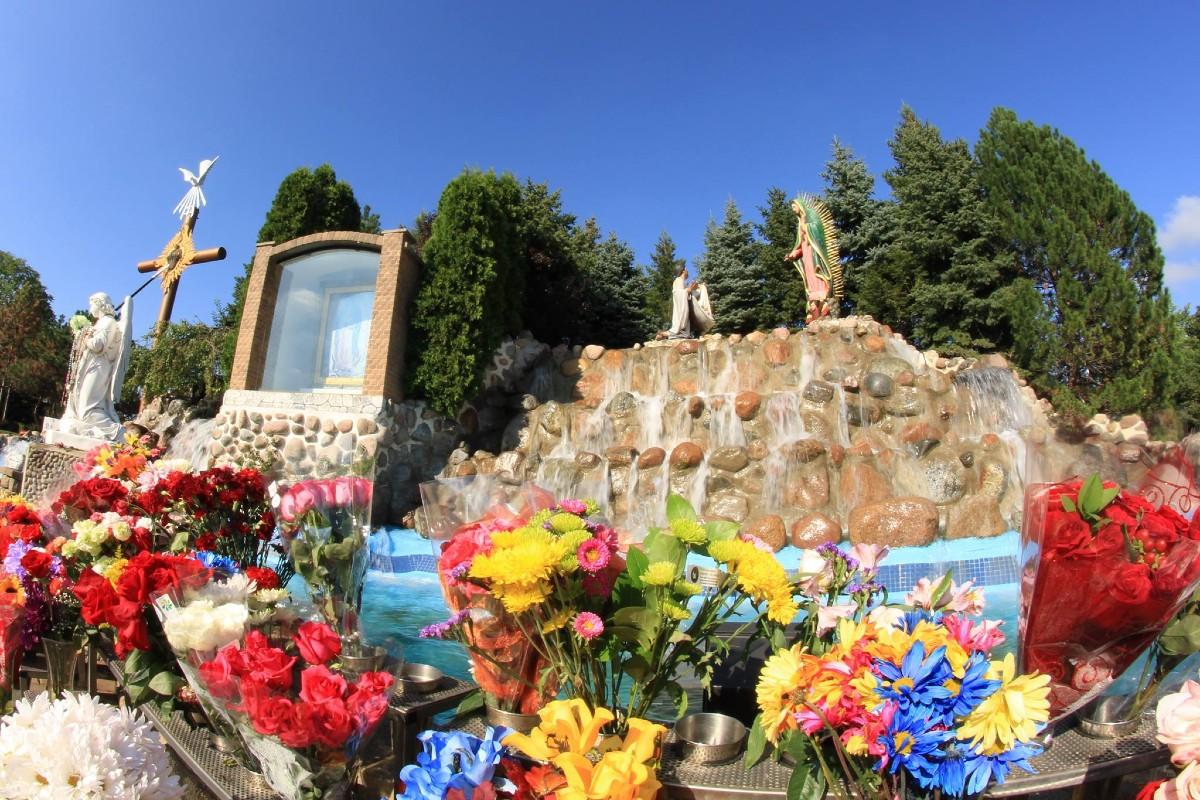 Santuario de Nuestra Señora de Guadalupe en Des Plaines, Illinois. Foto: Facebook Shrine of Guadalupe.