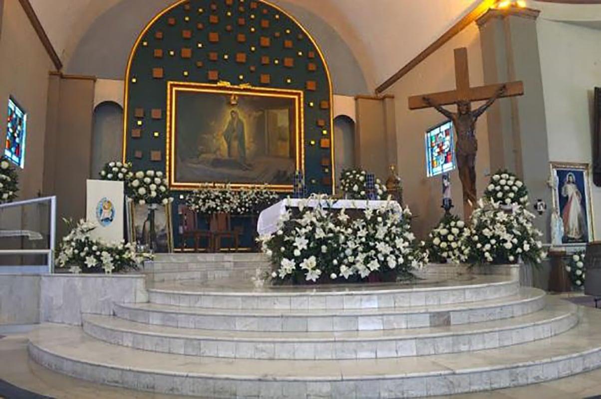 Santuario de la Quinta Aparición Guadalupana. Foto: Contrapapelnoticias.