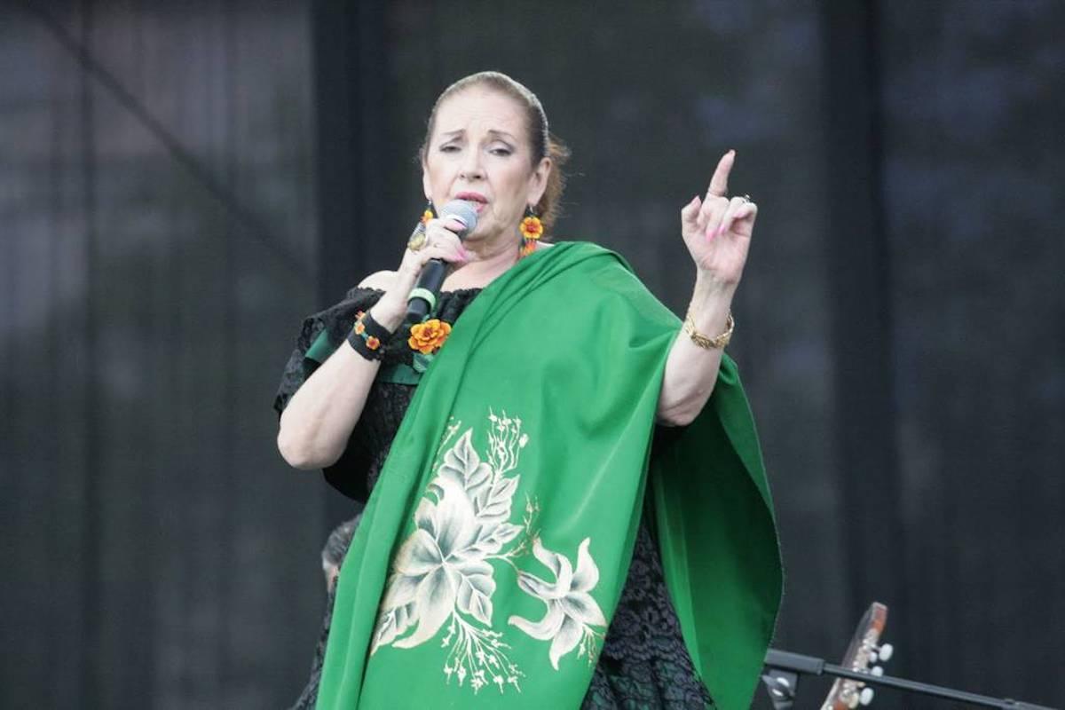 La actriz Viola Trigo se considera devota de la Virgen de Guadalupe.