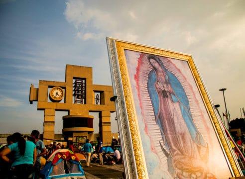 ¿Cuántos templos de México están dedicados a la Virgen de Guadalupe?