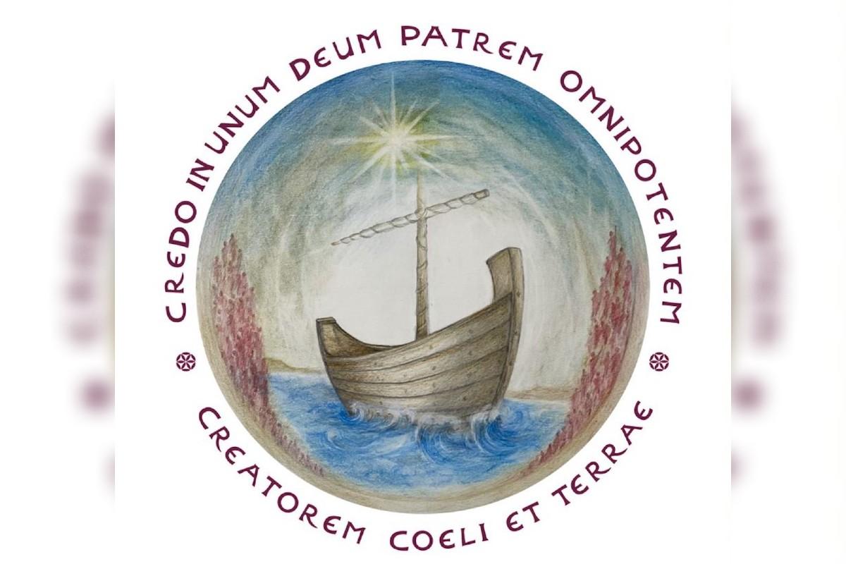 Logotipo de la Peregrinación por Tierra Santa.
