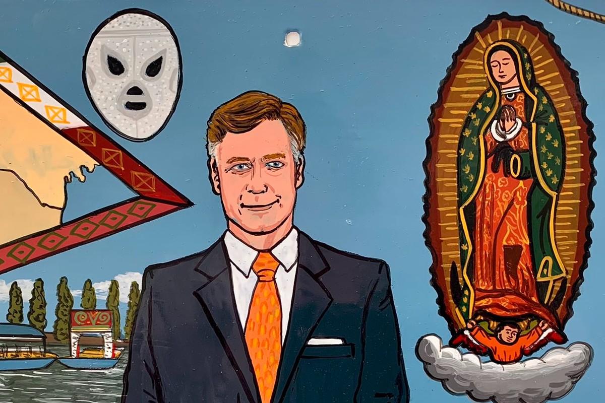 El exvoto a la Virgen de Guadalupe del embajador de EU en México