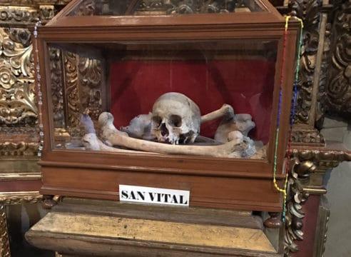 El san Vital de Catedral Metropolitana, un santo perdido en el tiempo