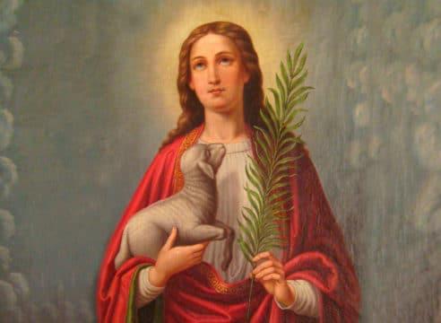 21 de enero: la Iglesia católica celebra a Santa Inés