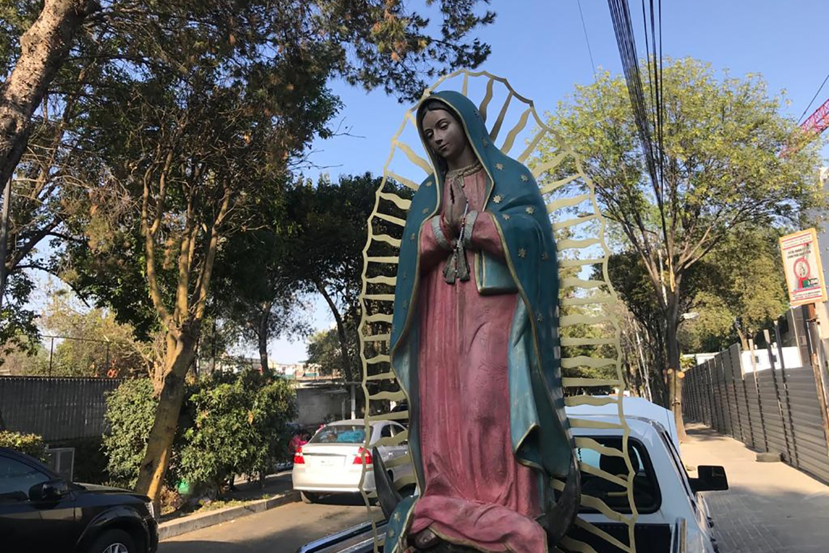 Aquí puedes ver y orar ante la Virgen de Guadalupe en tiempo real