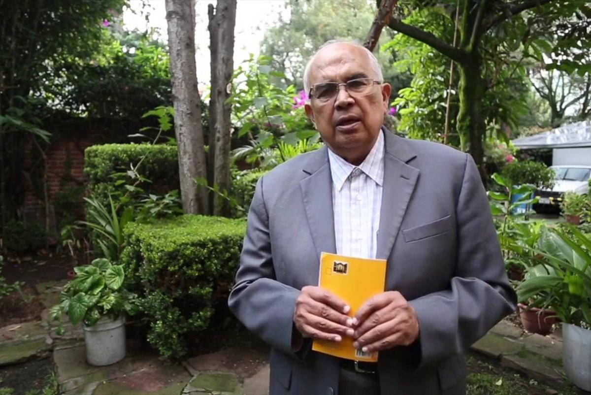 El sacerdote Benjamín Bravo, especialista en Pastoral Urbana.