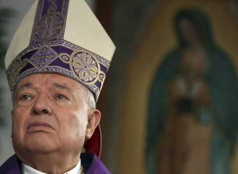 Hospitalizan al Cardenal Juan Sandoval por insuficiencia cardiaca
