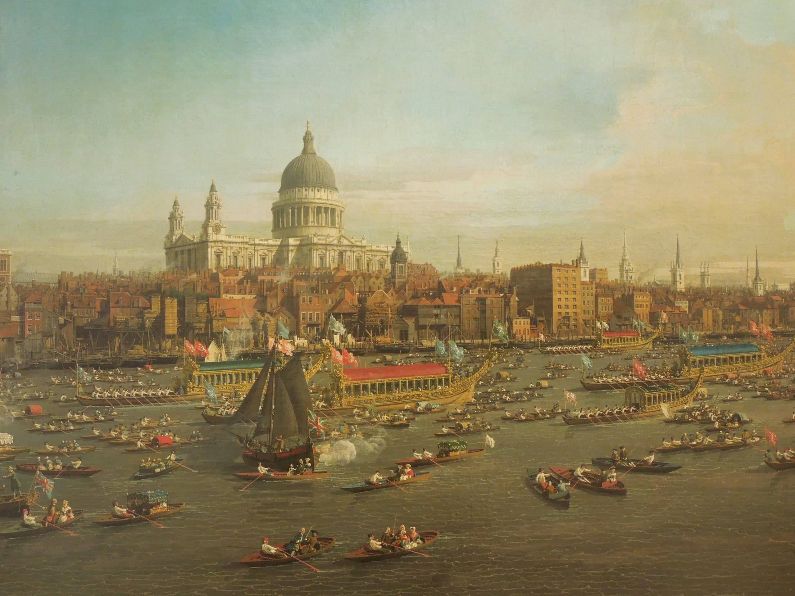Catedral de Londres, Canaletto.
