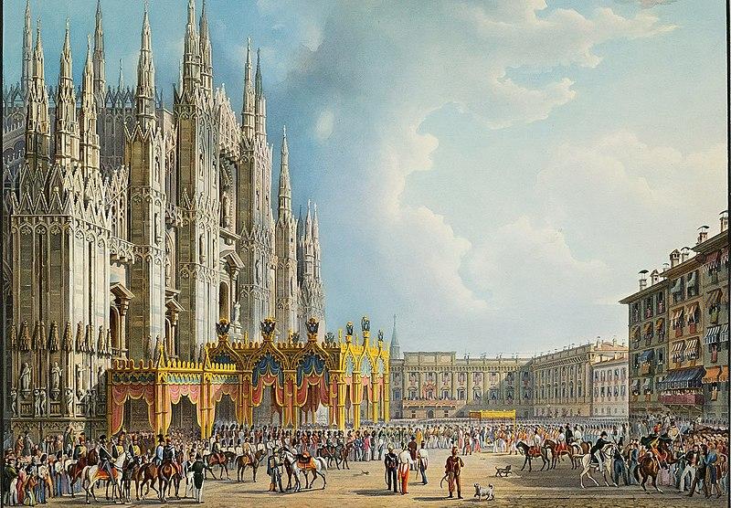Duomo di Milado. Foto: Wiki Commons.