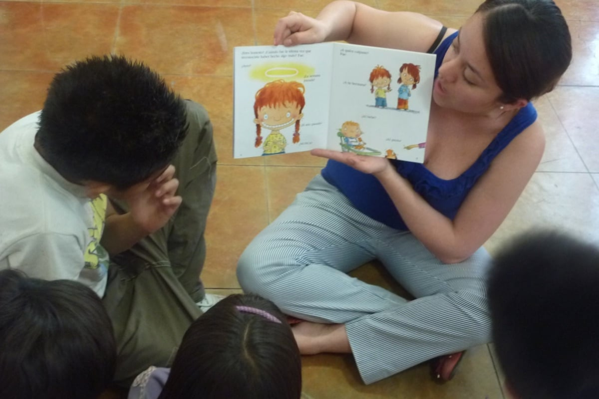 El Centro de formación imparte talleres para prevenir la violencia, autocuidado, entre otros, dirigidos a niños y niñas. Foto: CFML