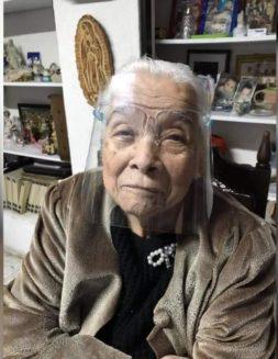 Esta abuelita confió en la Virgen de Guadalupe y sobrevivió dos epidemias